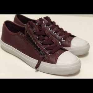 Coach empire zipper sneakers